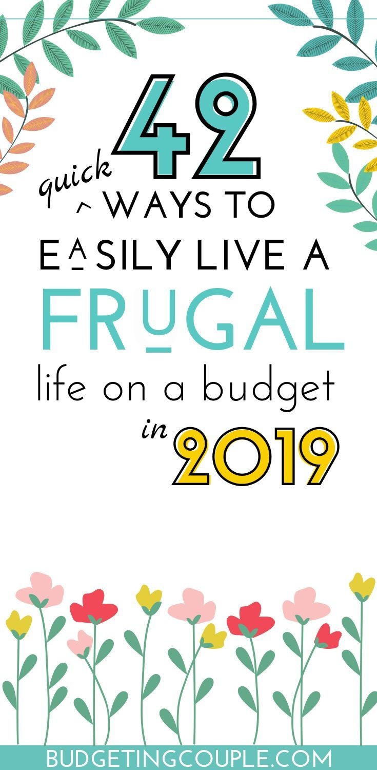 If you want to start saving money on autopilot and live a more frugal life in 2019 this is a must read Use these simple frugal tips and money saving techniques to save mo...