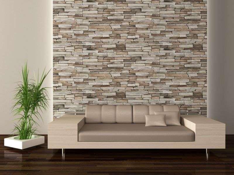 Decorare pareti interne in pietra - Rivestimenti in pietra artificiale  Idee casa  Pinterest ...