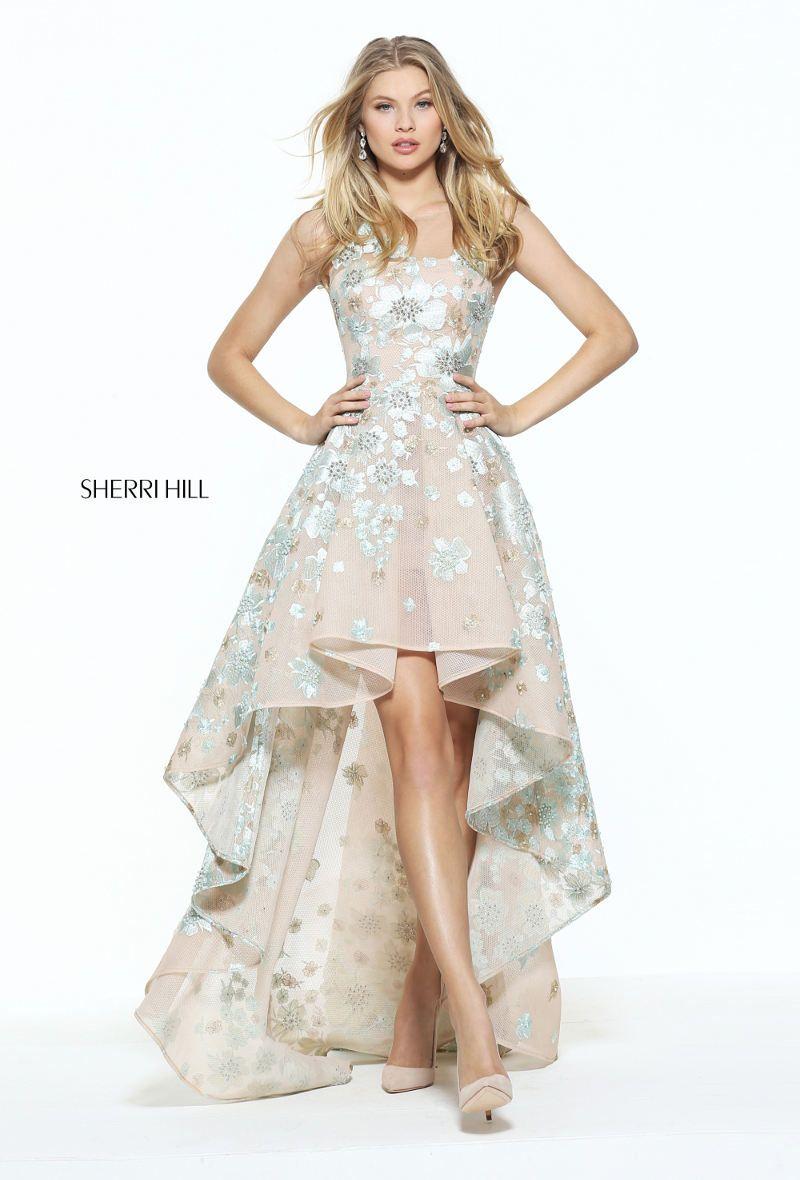 Abendkleid kurz und lang in einem! Die neue Sherri Hill Kollektion ...