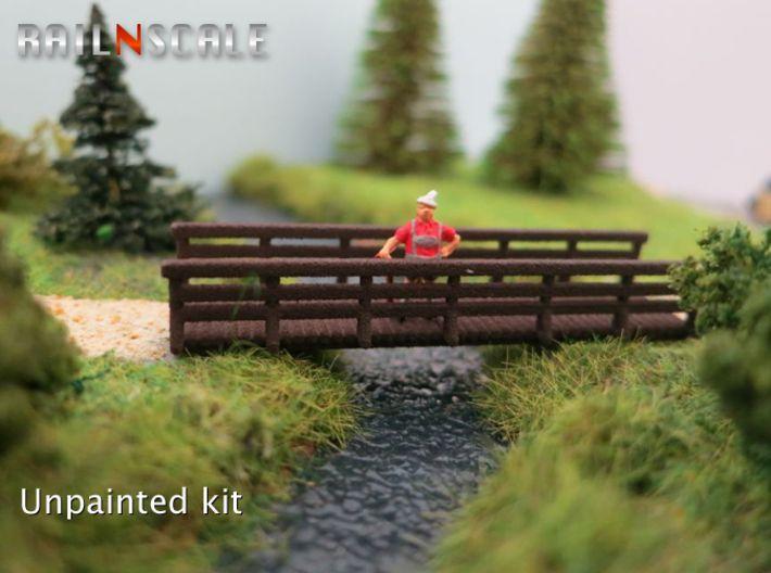 Wooden Bridge Sculpture printed with a 3D Printer via