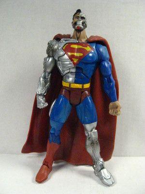 "DC Direct Comics  Universe Superman  Collectibles Action Figure 6/"" loose"