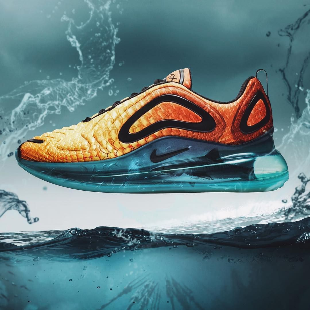 official site detailed images details for AQUAMAX 🔱 🌊 Made from the NEW @Nike 720 silhouette ...