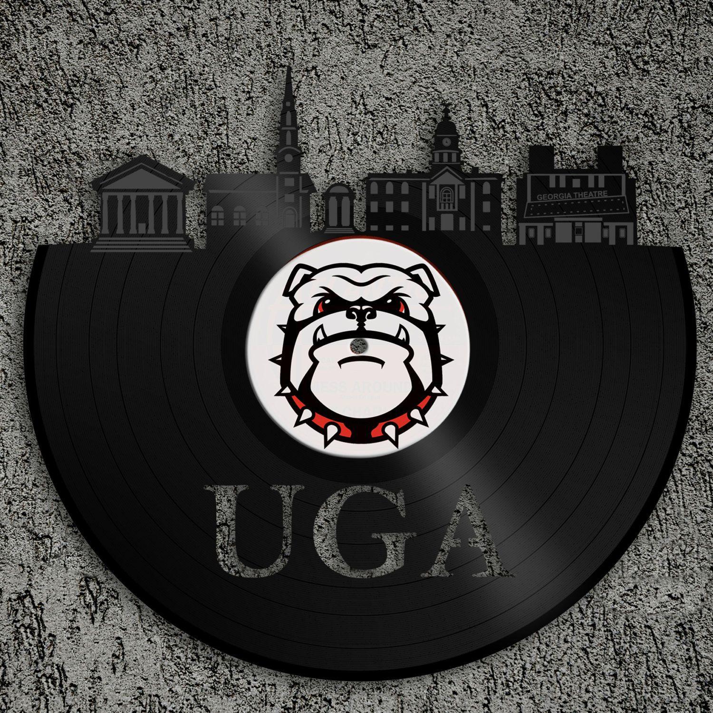 This Item Is Unavailable Etsy Bulldog Art Vinyl Wall Art Uga Gifts