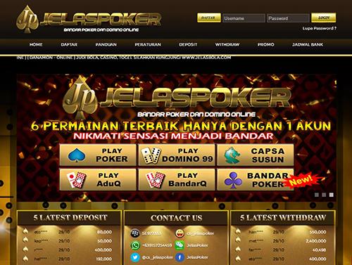 Jelaspoker Com Situs Agen Poker Online Terpercaya Di Indonesia Poker Indonesia Online