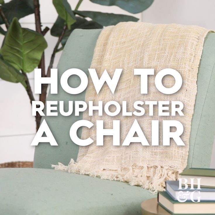 Our Foolproof Plan For Reupholstering a Chair - #chair #foolproof #reupholstering - #OldFurniture