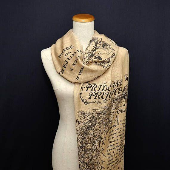 Pride and Prejudice by Jane Austen Shawl Scarf Wrap | nähen ...