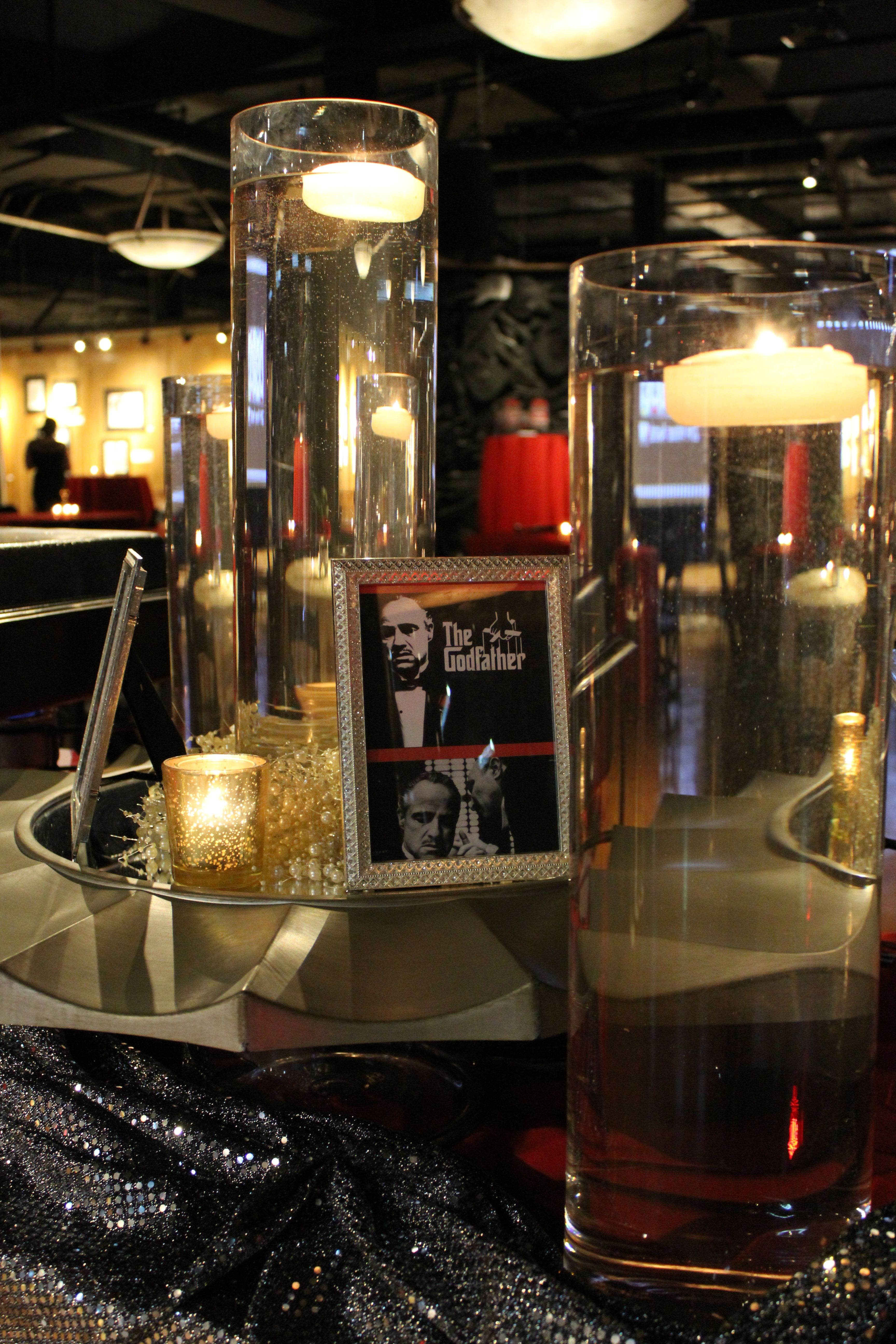 Movie Themed Food Stations  The Godfather  Tortellini &