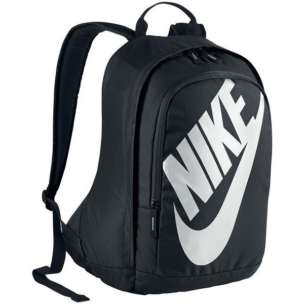 Nike Hayward Futura 15-inch Laptop Backpack (Black) ($55) ❤ liked ...
