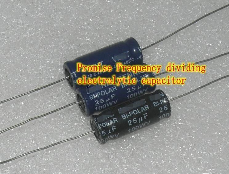 100v 25 26uf 27uf 30uf Promise Electrolytic Capacitor Audio