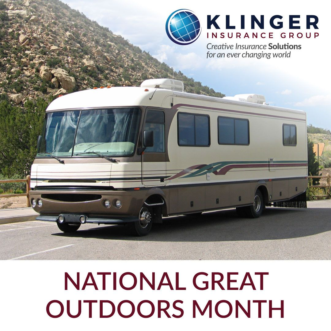 June is designated as national great outdoors month the