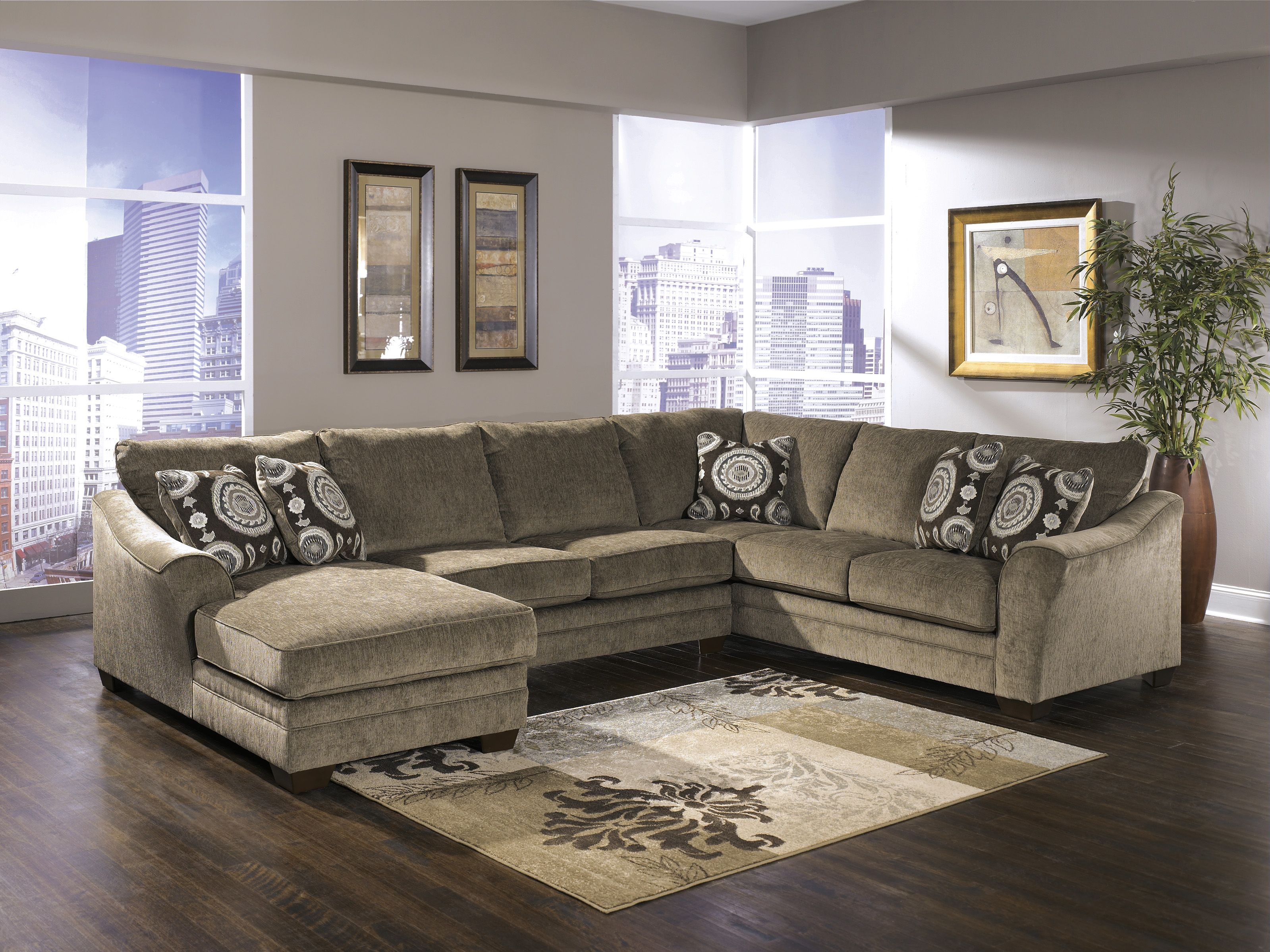 Ashley Furniture Sectional Microfiber Design Sectionalsashley