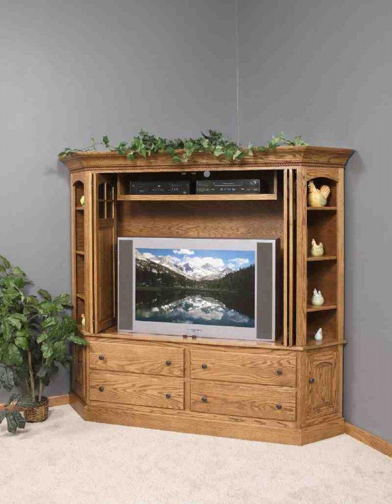 Corner Entertainment Armoire Armoire Tv Cabinets Armoire