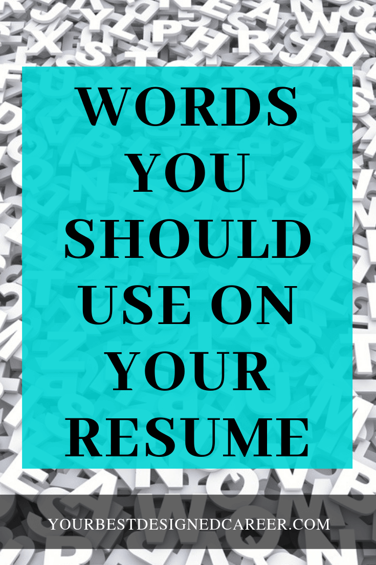 persuasive words you should be using on your resume