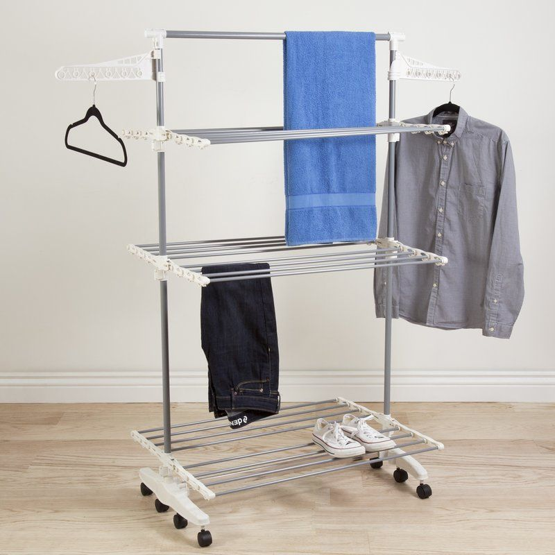 3 Tier Rolling Drying Rack