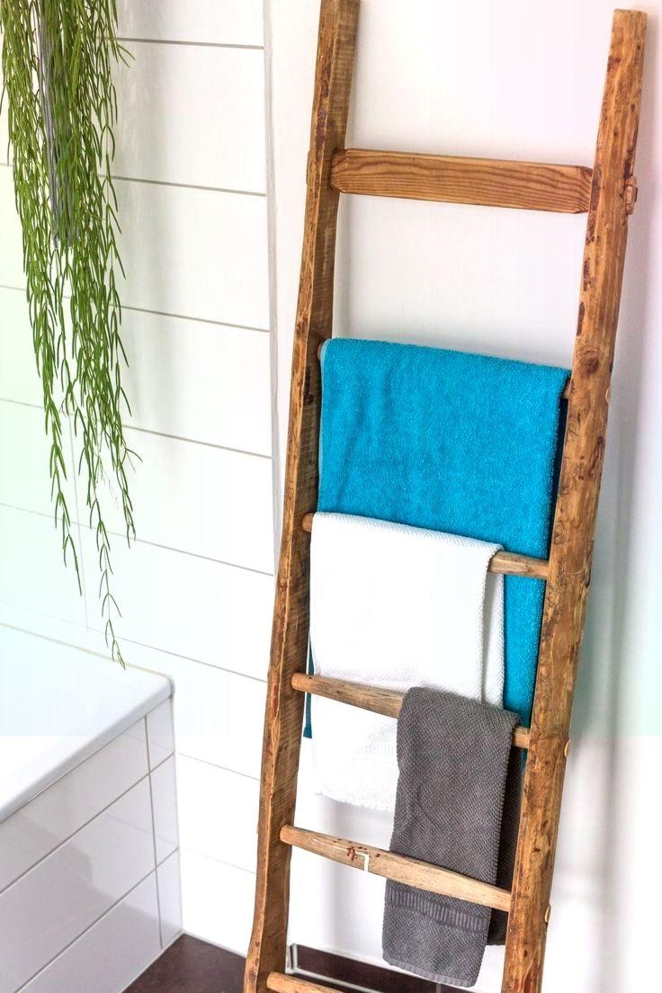 Dachbodenfund Eine Alte Leiter Wird Zum Handtuchha Alte Dachbodenfund Eine Handtuchha Leiter Wird Zum Alte Leiter Leiter Leiter Holz