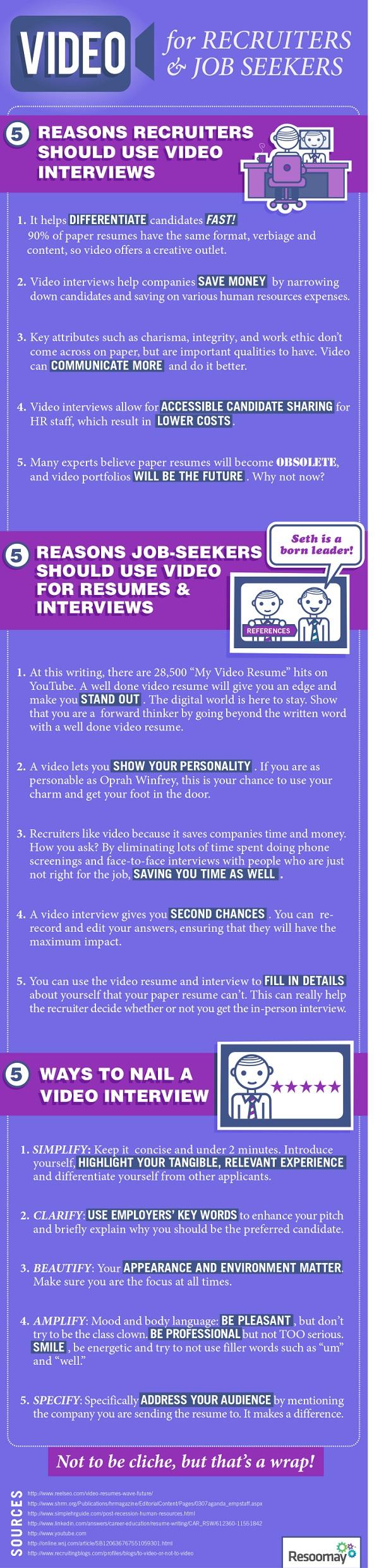 video interview sollicitatie Waarom video interviews handig zijn voor sollicitanten en  video interview sollicitatie