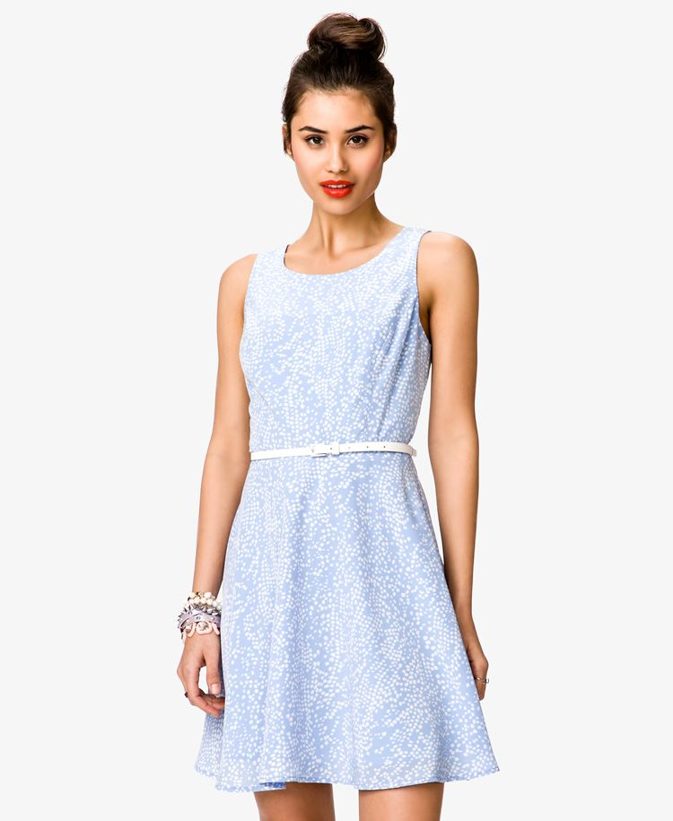 46856517269 Pale blue dress and a red lip color- LunaVida: Wish List Wednesday ...