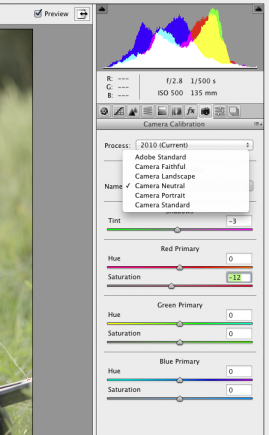 Really helpful tutorial on editing RAW images using your camera profiles for better colour.