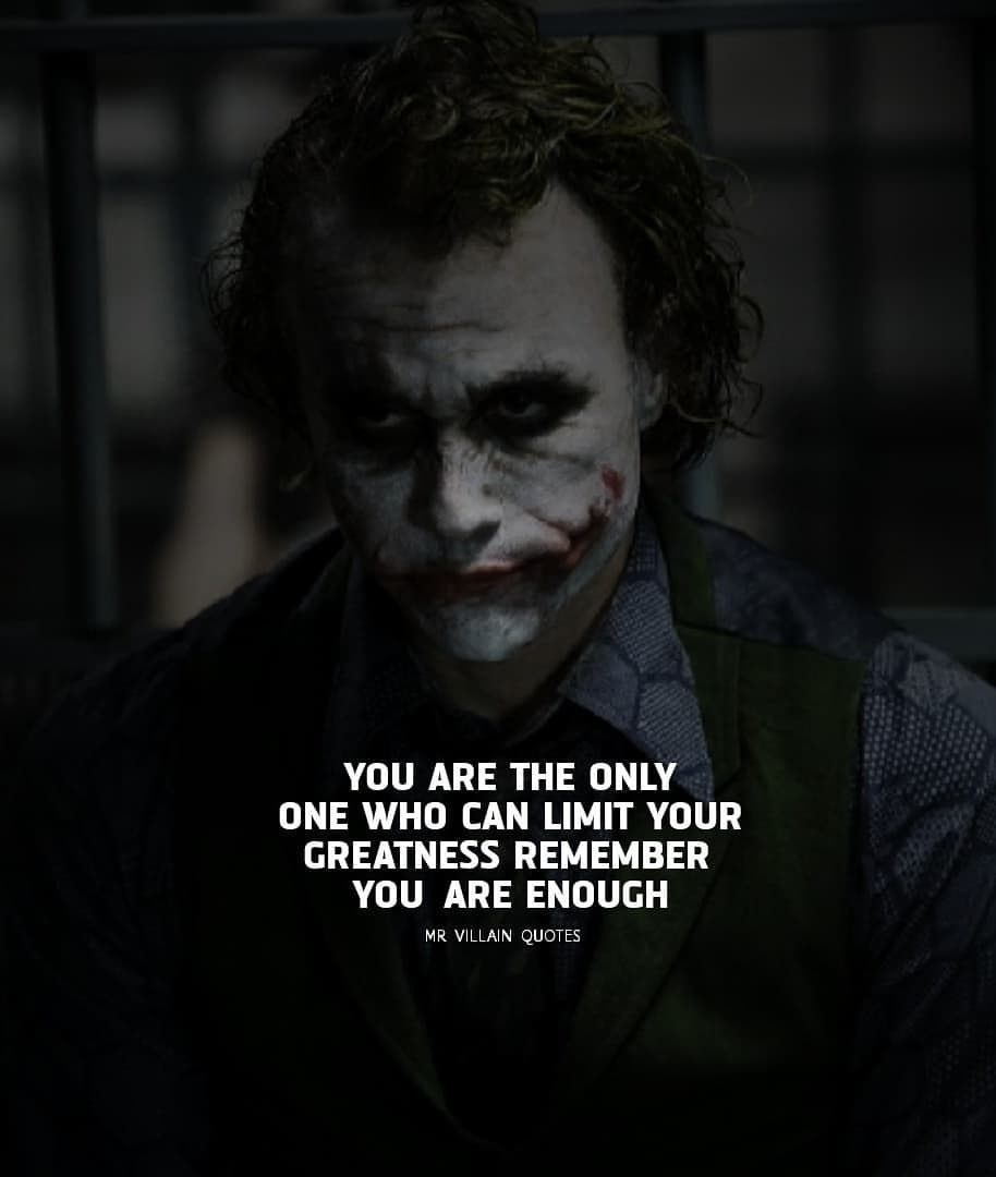 Pin by Anuj Mehra on dark eclipse | Joker quotes, Villain ...