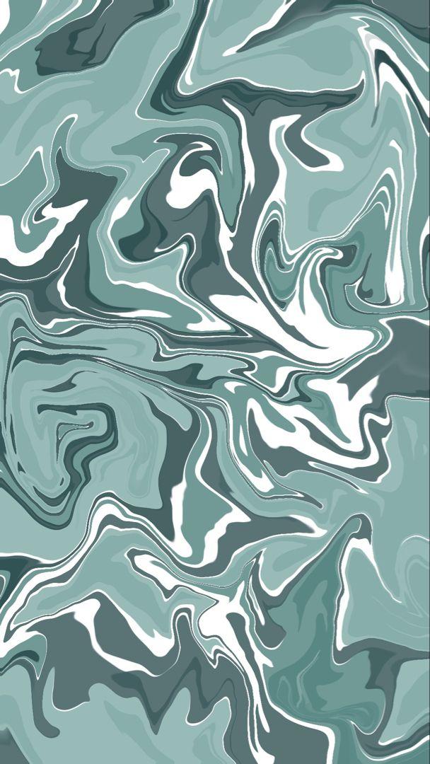 Sea Blue Swirl Instagram Story Background