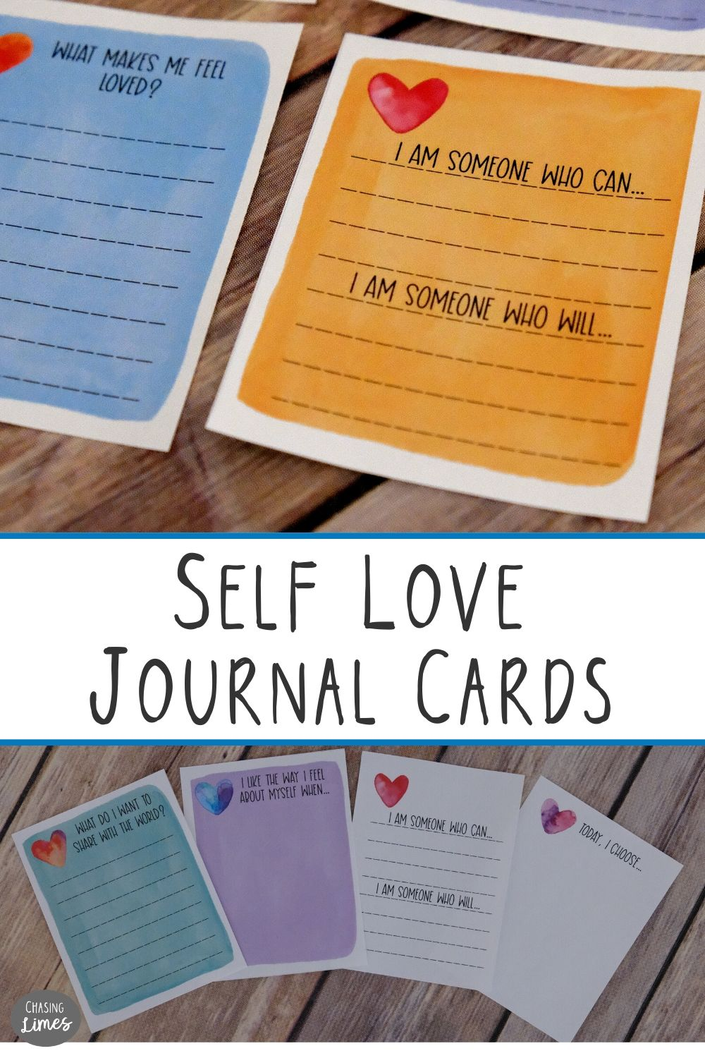 Self Love Printable Journal Cards Self Care And Inspirational Writing Prompts Journal Cards Printable Journal Cards Smash Book Pages