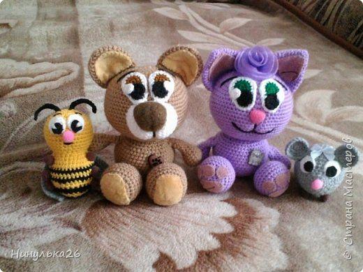 Amigurumi Anahtarlık Tarifleri : Amigurumi kedi ve ayı yapılışı amigurumi crochet and ornament