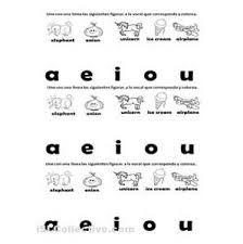 Resultado de imagen para vowel worksheets