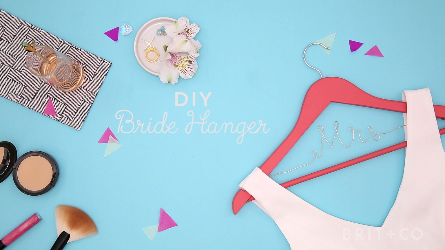 Watch this wedding DIY video tutorial to learn how to make a bride ...