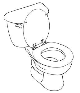 How To Draw A Toilet Step 6 Toilet Art Potty Training Girls Social Stories