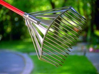 The Golden Gark multipurpose garden rake, shovel and sieve £29.95  #rake #tools #gardening #gardens