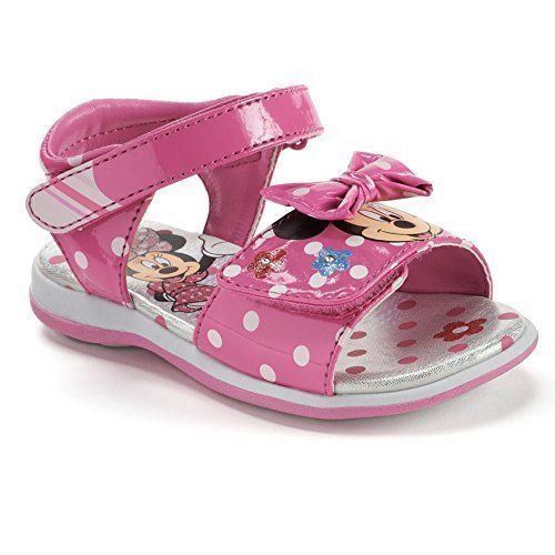 Josmo Girls Minnie Mouse Sandals