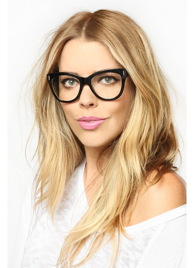812b86630d92 Easton Rounded Cat Eye Clear Glasses
