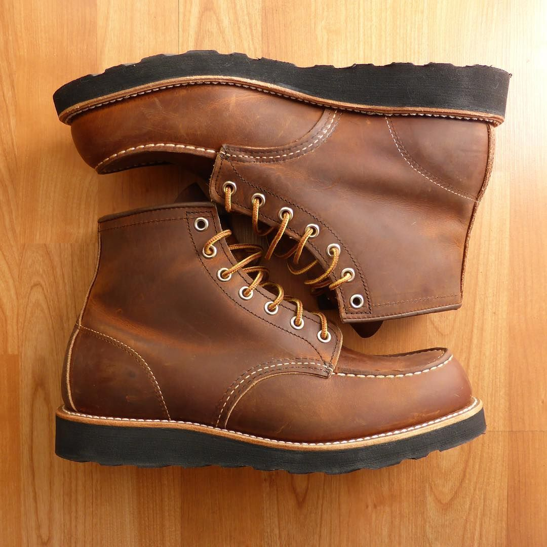 Red wing boots, Red wing moc toe