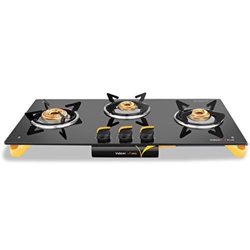 Vidiem Air Oro 3 Burner Cooktop Kitchen Appliances Stove