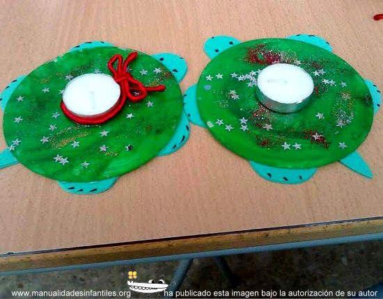 Manualidades de navidad con cds con cd manualidades and - Manualidades faciles de navidad para ninos ...