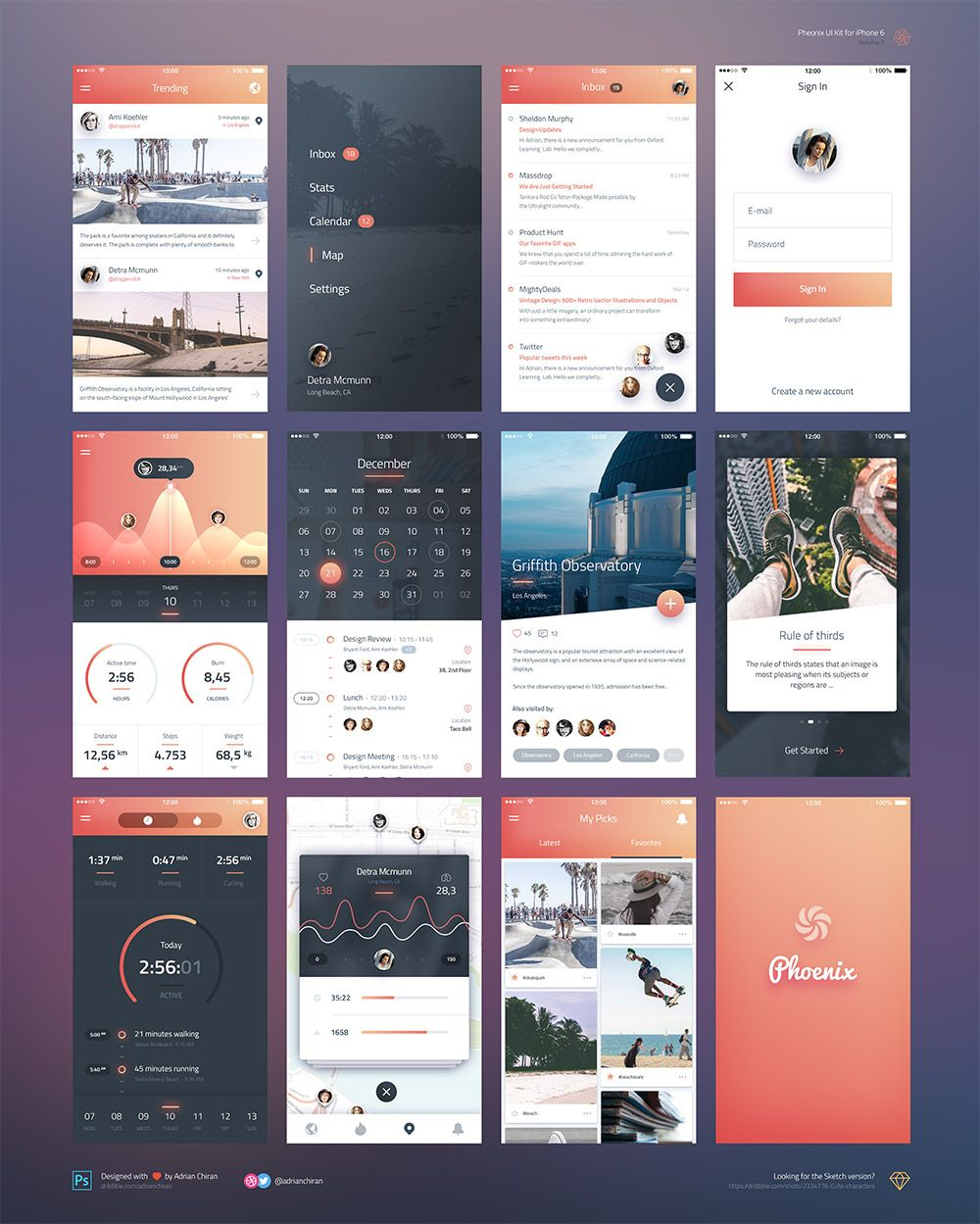 p>Download iPhone 6 iOS Application UI Kit Free PSD. A free iOS UI ...
