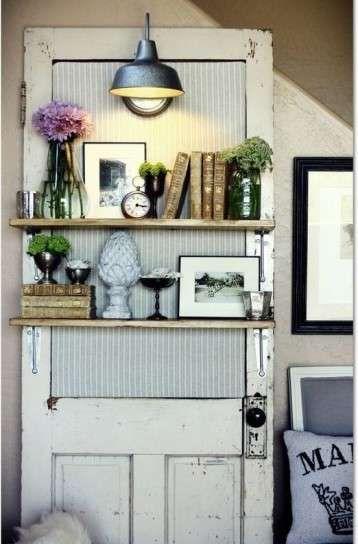Reciclar puertas viejas fotos ideas diy ideas para for Reciclado de puertas