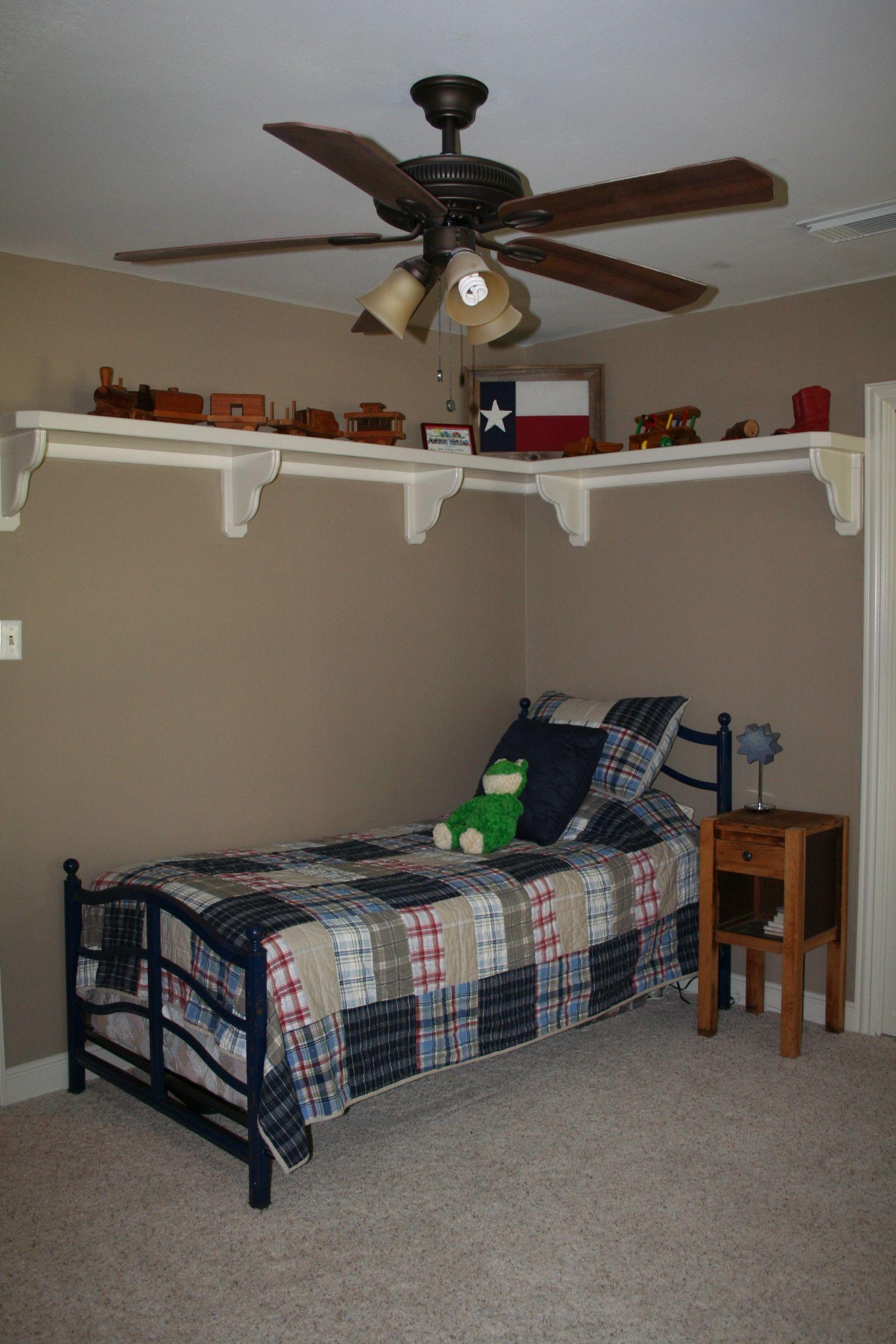 Trophy Room Design Ideas: I Kind Of Like This Shelf. I Want To Do Something Like It