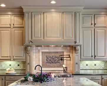 Raised Panel Cabinets Color Teri Turan Traditional Kitchen