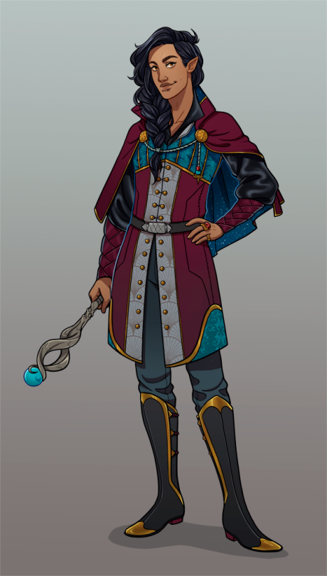 fab0c9e195f Another DnD character commission I had the joy in 2019