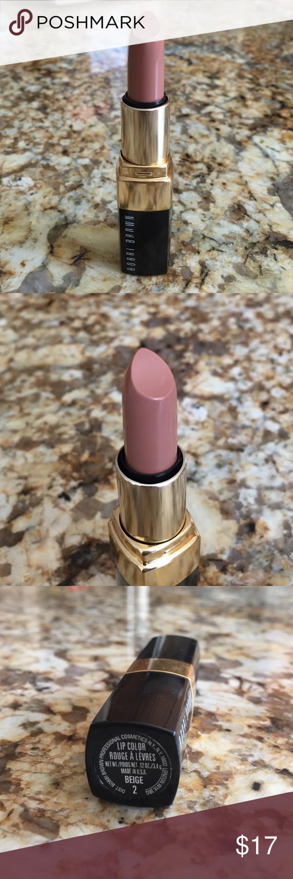 New Bobbi brown lipstick beige 2 Bobbi brown lipstick