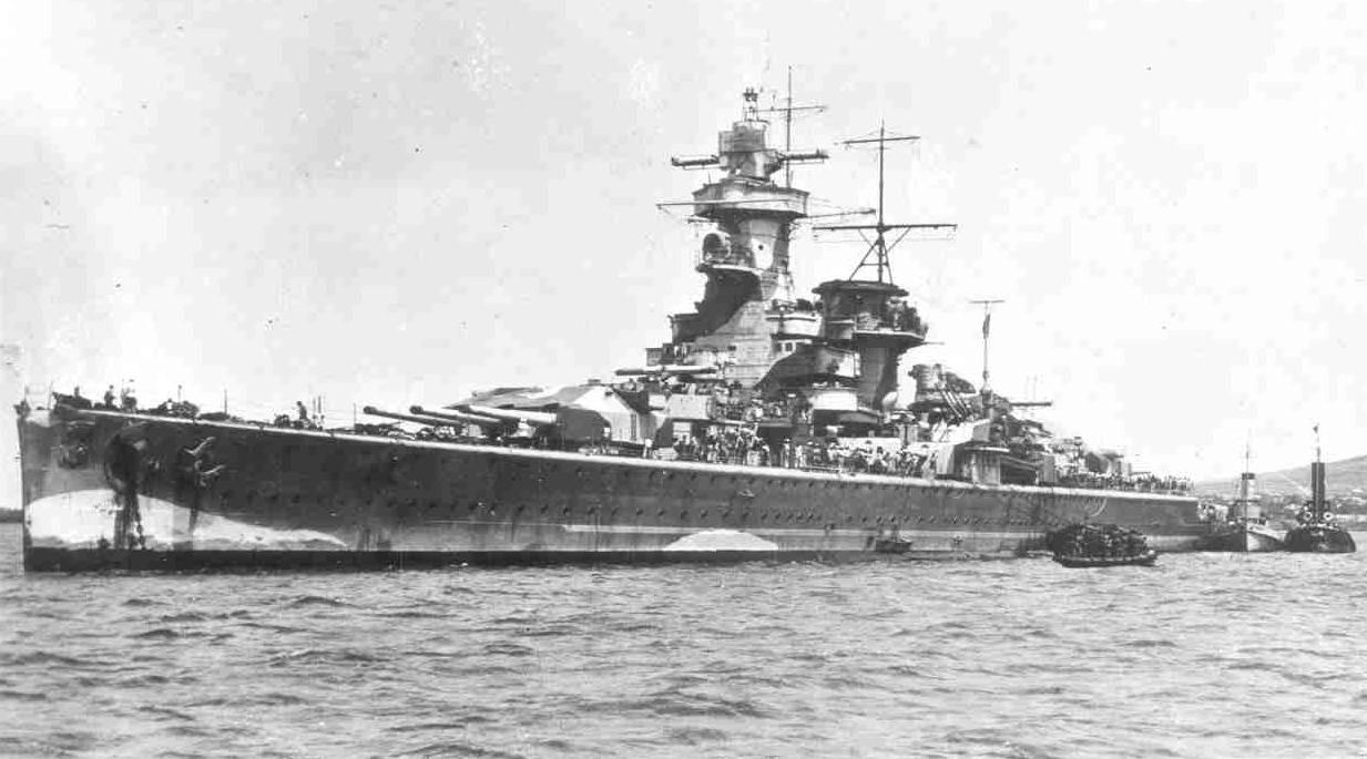 Pocket Battleship Admiral Graf Spee In December 1939 After The