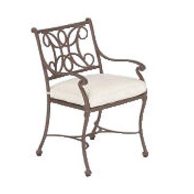 Woodard Landgrave 41135c 1 Cau Outdoor Dining Arm Chair Living Showroom