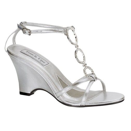 Silver Wedge Sandals Wedding | Silver Wedge Sandals For Wedding Buy And Slay