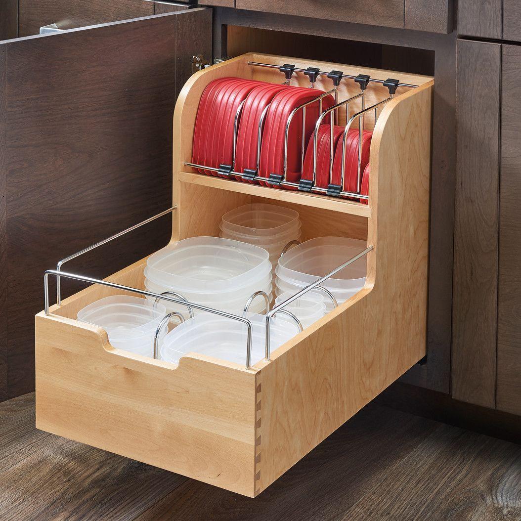 Food Storage Pull Out Drawer | Cocinas, Muebles de cocina y ...