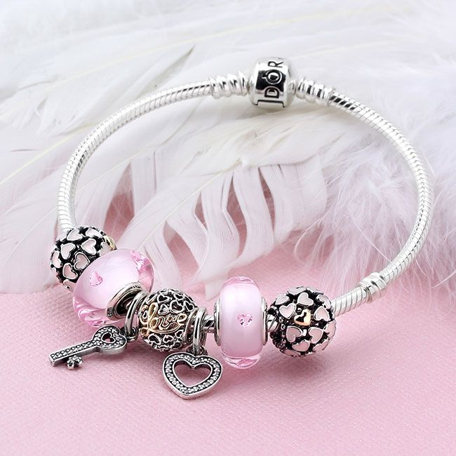PANDORA Love You Bunches Charm Bracelet | Pandora bracelet designs ...
