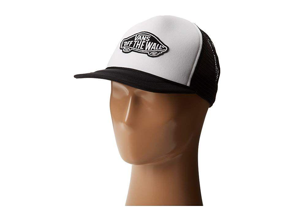 běžecké boty výstupní butik krásné a okouzlující Vans Classic Patch Trucker Caps White/Black in 2019 ...