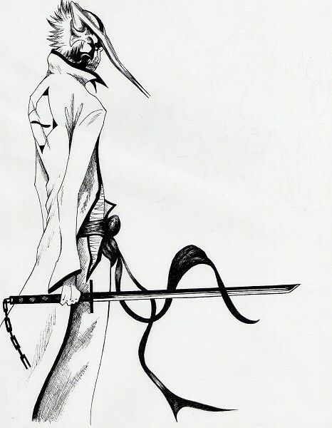 ゚✧ Manga Art ✧゚・:* Hollow ichigo. | BLEACH | Pinterest | Lejía ...