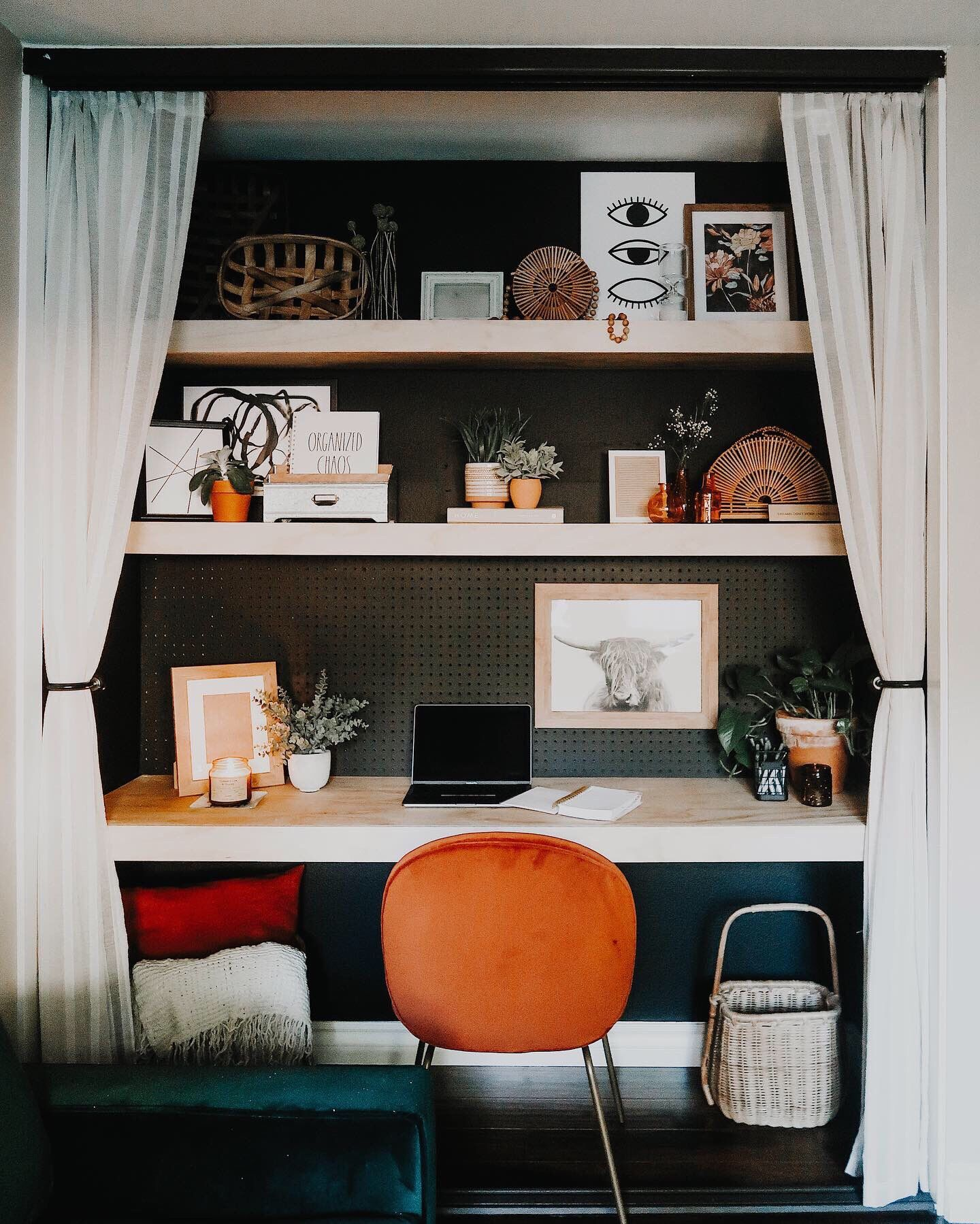 Bedroom closet into office in 2020 simple closet closet