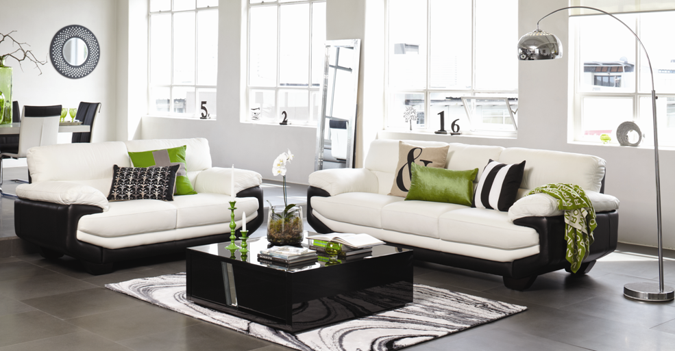 Monza Leather Lounge Furniture By Morgan Furniture From Harvey Norman New  Zealand